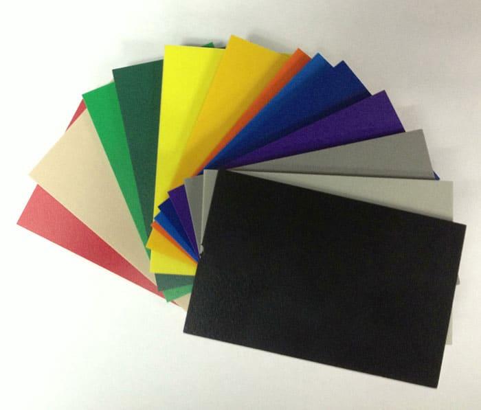 Płyty PCV Spienione Kolorowe - wymiar 205x305